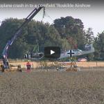 Fly nødlander i Roskilde